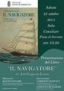 Manifesto - Il Navigatore - Piano di Sorrento presentazione - Copia