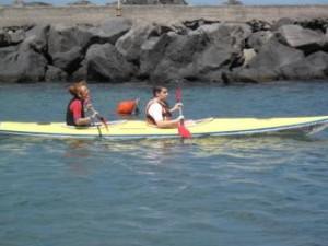 a scuola di canoa