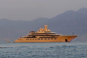mega yacht DILBAR