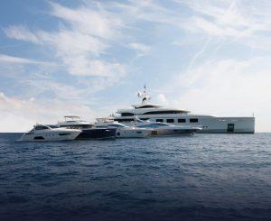 La flotta megayacht Azimut Benetti